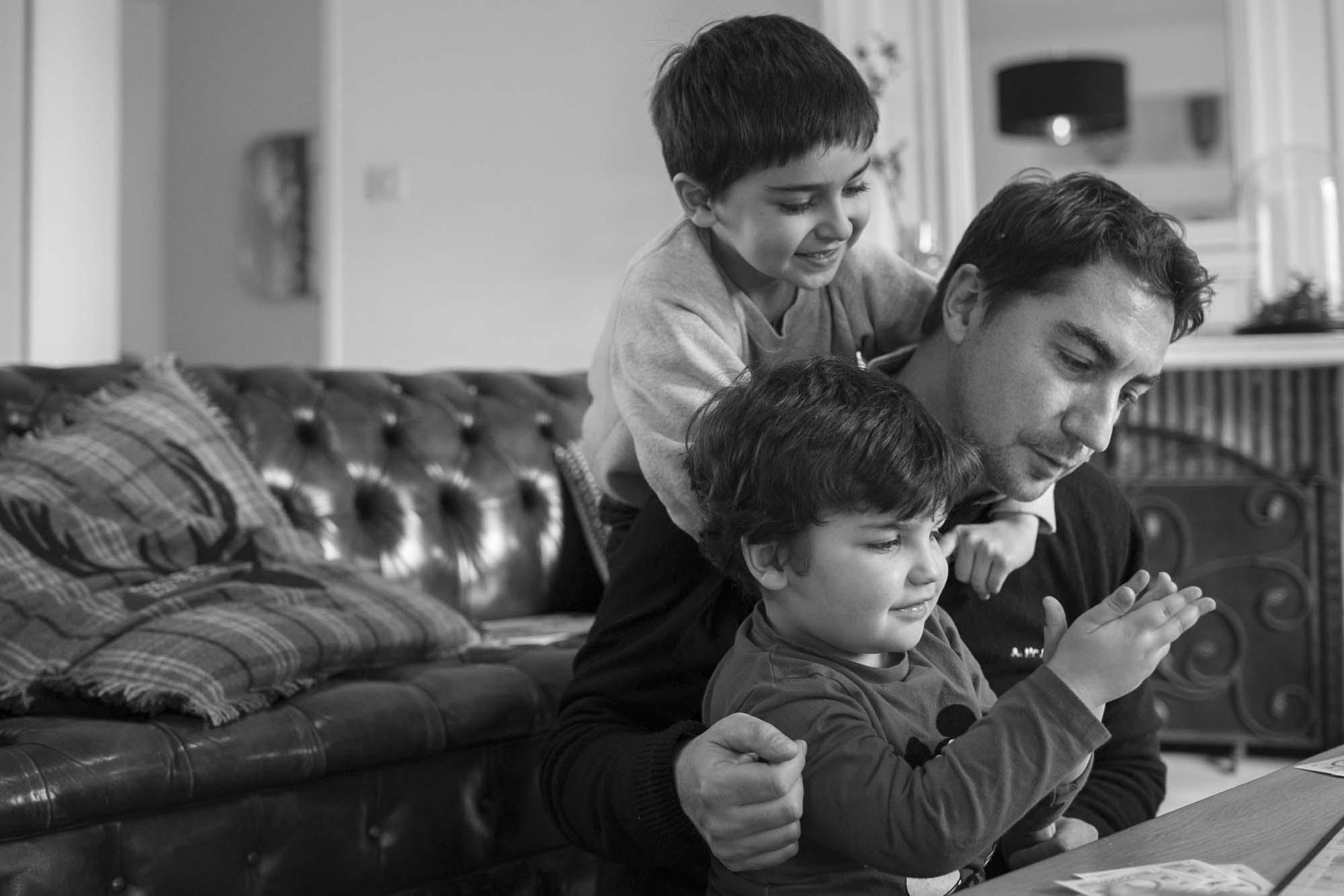 Séance documentaire famille
